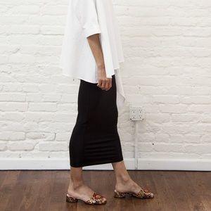MIMU MAXI Skirt Leggings - Black